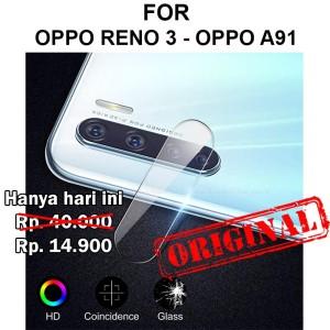 Harga camera tempered glass oppo reno 3   a91 anti gores hp pelindung   HARGALOKA.COM