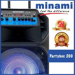 Harga minami party box200 speaker aktif modern meeting bluetooth 12 | HARGALOKA.COM