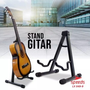 Harga alat musik stand gitar universal import stand bass ukulele a   HARGALOKA.COM