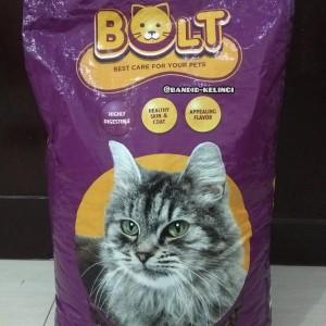 Harga bolt cat food makanan kucing tuna 20kg khusus gojek   HARGALOKA.COM