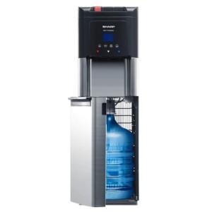 Harga water dispenser sharp galon bawah swd 75ehl sl bottom loading | HARGALOKA.COM