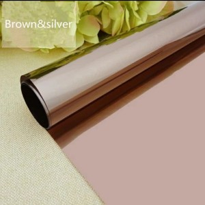 Harga stiker kaca kaca film brown silver | HARGALOKA.COM