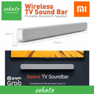 Harga xiaomi tv soundbar wired and wireless bluetooth audio with 8 speakers   | HARGALOKA.COM