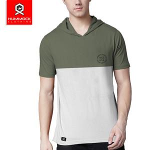 Harga kaos hoodie pria baju kupluk casual pria tshirt   h01b tc 1043 m   hijau | HARGALOKA.COM