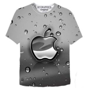 Harga t shirt pria kaos pria baju pria t shirt apple kaos apple tshirt | HARGALOKA.COM