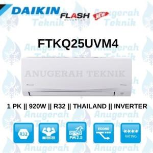 Harga ac split daikin 1 pk 1pk r32 thailand flash inverter   | HARGALOKA.COM
