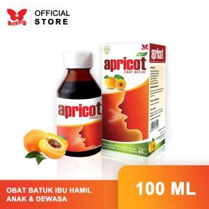 Harga obat batuk anak ibu hamil menyusui amp dewasa apricot | HARGALOKA.COM
