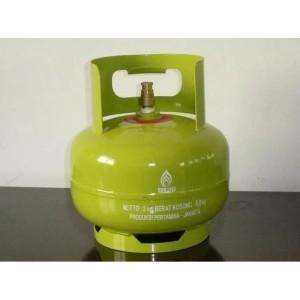 Harga tabung gas 3 kg melon kosong   HARGALOKA.COM