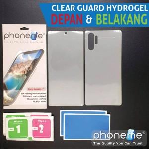 Harga zte nubia z17 mini   phoneme gel armor hydrogel depan | HARGALOKA.COM