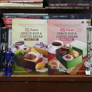 Harga paket buku 25 snack box amp coffee break   erwin   HARGALOKA.COM