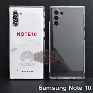 Harga case samsung note 10 premium clear soft case bening transparan   HARGALOKA.COM
