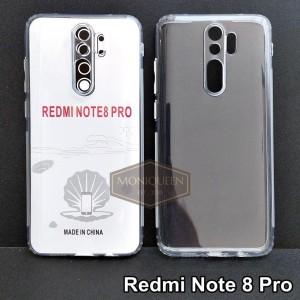 Harga case redmi note 8 pro premium clear soft case bening transparan   HARGALOKA.COM