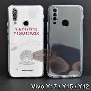 Harga case vivo y17 y15 y12 premium clear soft case bening transparan   HARGALOKA.COM
