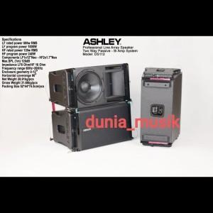 Harga speaker line array ashley ds112 | HARGALOKA.COM