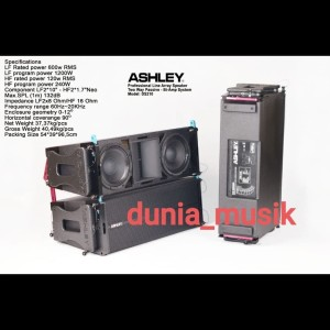 Harga speaker line array ashley ds210 | HARGALOKA.COM
