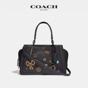Harga coach dreamer 28 vintage jewelry black   original 100 | HARGALOKA.COM