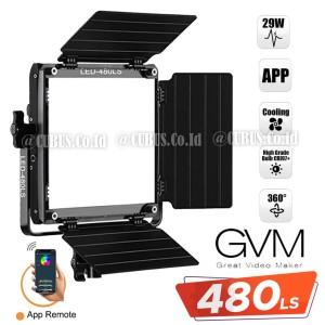 Harga gvm 480ls b bi color video light studio foto app remote | HARGALOKA.COM