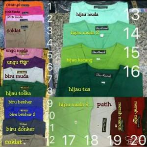 Harga baju ok lengan panjang tanpa bordir baju jaga lengan | HARGALOKA.COM