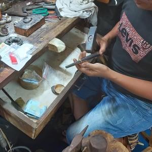 Harga cincin cincin kawin custom emas pesanan request | HARGALOKA.COM