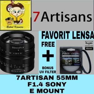Harga lensa 7artisan 55mm f1 4 sony e mount 7 artisan 55mm f1 4   HARGALOKA.COM