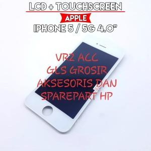 Harga lcd fullset iphone 5 iphone 5g 4 0 34 touchscreen | HARGALOKA.COM