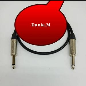 Harga kabel speaker gitar keyboard jack neutrik akai 6 5mm kabel canare 3 | HARGALOKA.COM