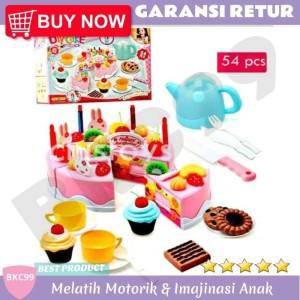 Harga a42 mainan edukasi anak perempuan masak masakan kue ulang tahun | HARGALOKA.COM