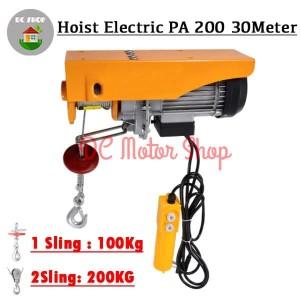 Info Electric Hoist Japan Katrol Elektrik 1000 Seling 20meter Katalog.or.id
