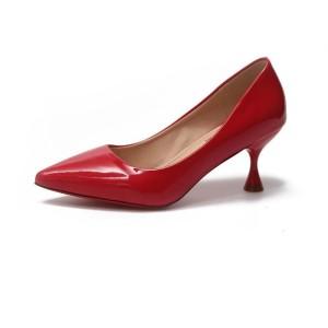 Harga sepatu kerja wanita pump shoes gio saverino heels poppy   red | HARGALOKA.COM