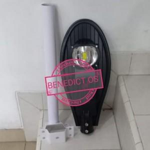 Harga lampu jalan pju led cob cobra 50w complete set | HARGALOKA.COM