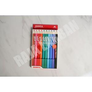 Harga pulpen fineliner zebra penciltic set 04 mm waterbased ink ecer | HARGALOKA.COM