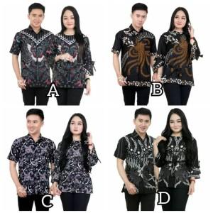 Harga batik couple seragam sarimbit kemeja blouse | HARGALOKA.COM