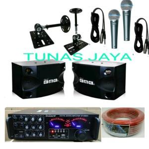 Harga paket sound system karaoke speaker bmb cs252 v mkii plus mic shure   HARGALOKA.COM
