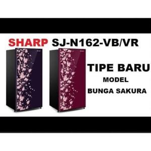 Harga kulkas sharp sj n162d vb vr 1 pintu kirei iii sakura series 84 | HARGALOKA.COM