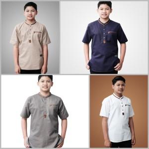 Harga pakaian baju atasan kemeja koko anak remaja | HARGALOKA.COM