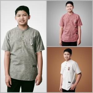 Harga baju atasan kemeja koko anak remaja tanggung laki laki | HARGALOKA.COM