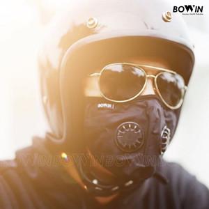 Harga bowin masker motor   dual filter karbon n99 cv masker anti polusi   standard   HARGALOKA.COM