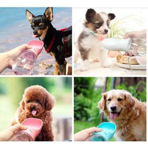 Harga portable tempat makan atau minum hewan peliharaan anjing kucing dll   biru   HARGALOKA.COM