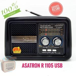 Harga radio jadul asatron r 1105 usb radio portable radio fm radio   HARGALOKA.COM