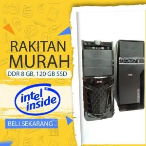 Harga komputer pc rakitan core i3 8 gb ssd 120 gb untuk kantor   HARGALOKA.COM