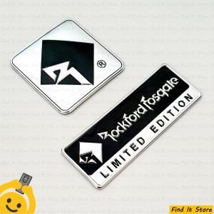 Harga sticker emblem logo stiker rockford fosgate speaker audio pajero sport   b persegi   HARGALOKA.COM