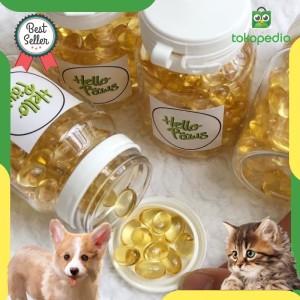 Harga fish oil vitamin minyak ikan untuk anjing kucing isi 200 | HARGALOKA.COM