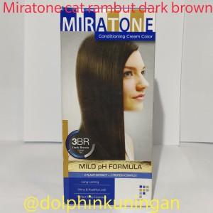 Harga pewarna rambut miratone hair colour dark brown | HARGALOKA.COM
