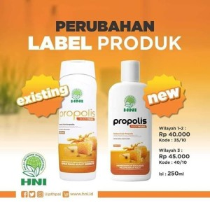 Harga body wash propolis hpai sabun cair herbal | HARGALOKA.COM