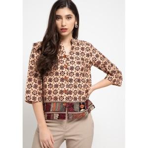 Harga blouse batik agnia   | HARGALOKA.COM