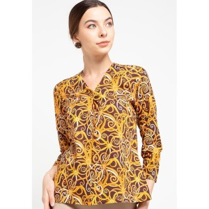 Harga blouse batik gina kalbar   | HARGALOKA.COM