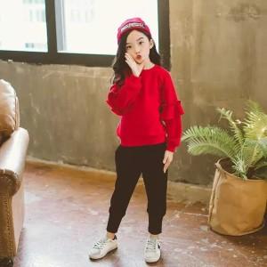 Harga setelan sweater anak handy 1   7 thn maxkenzo baju | HARGALOKA.COM