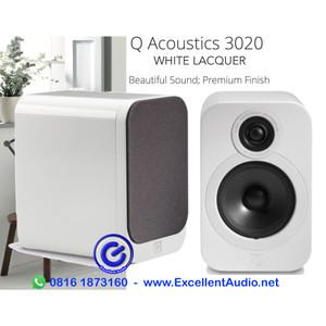 Harga q acoustics 3020 white lacquer pasif bookshelf | HARGALOKA.COM
