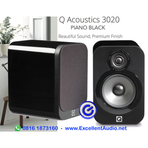 Harga q acoustics 3020 piano black pasif bookshelf | HARGALOKA.COM