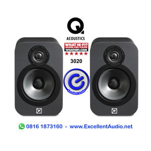 Harga q acoustics 3020 pasif bookshelf | HARGALOKA.COM